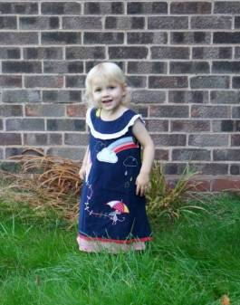 Powell Craft Weather Mouse Cord Dress