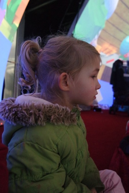 Georgie at Santa's Grotto, Bullring