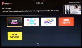 Panasonic Freeview Play HDD Recorder Review - Catch Up Players