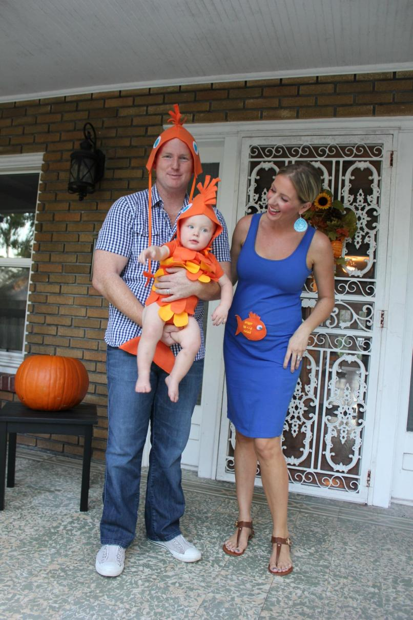 diy fish costume for the family no sewing