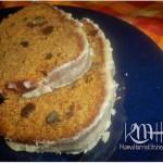 Pumpkin Spice Bread with Brown Sugar Glaze
