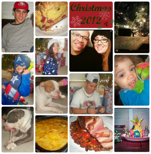 Christmas 2012 Mama Harris