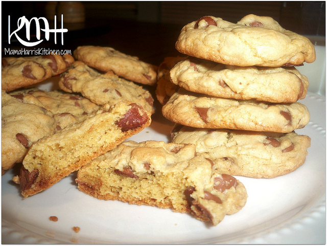 The Most Addictive Chocolate Chip Cookies