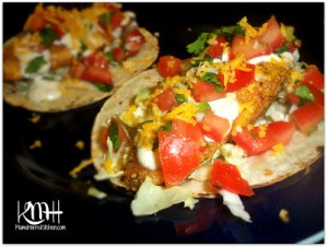 Fish Tacos with Creamy Fish Taco Sauce