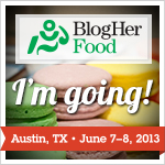 I'm Heading to BlogHer Food 2013!!
