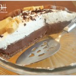 Chocolate Cream Pie with Chocolate Shortbread Crust and a GIVEAWAY!