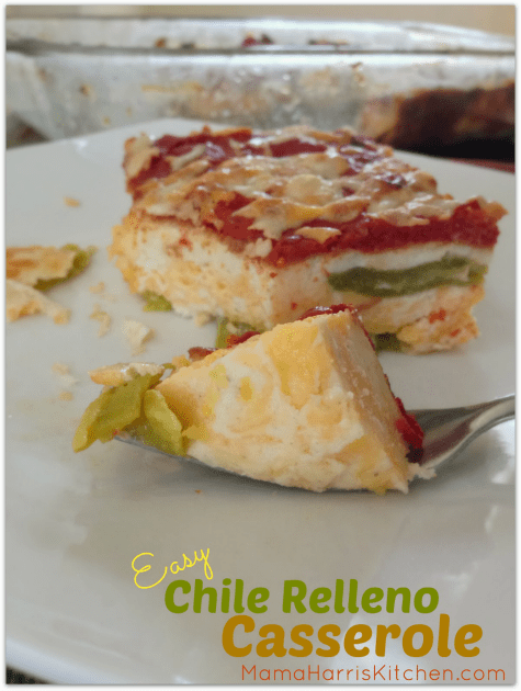 Easy Chile Relleno Casserole | Mama Harris' Kitchen