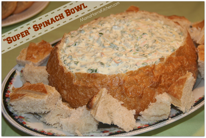 super spinach bowl - Mama Harris' Kitchen