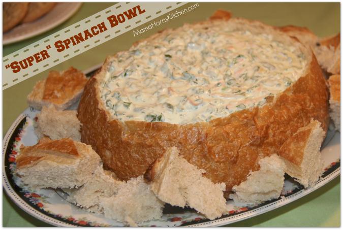"""Super"" Spinach Bowl"