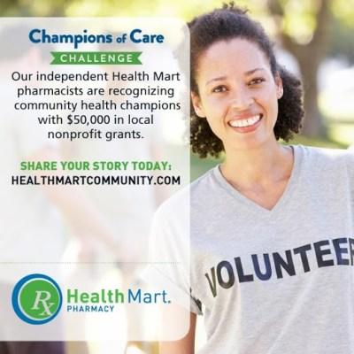Health Mart's Champions of Care Challenge is on!