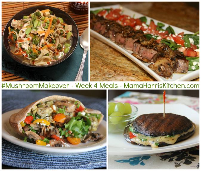 #MushroomMakeover meals
