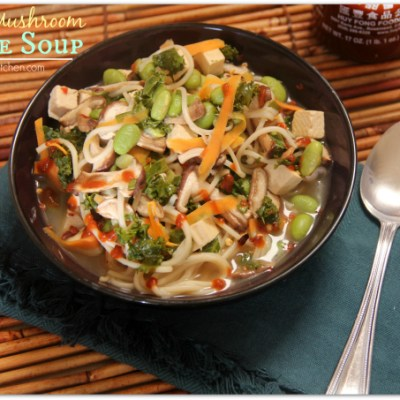 Shiitake Mushroom Noodle Soup