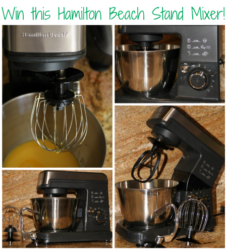 Hamilton Beach 6-Speed Stand Mixer Giveaway