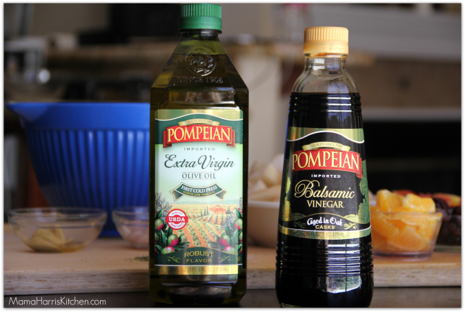 pompeian olive oil and vinegar