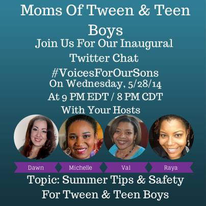 voices for our sons twitter chat