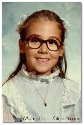First grade: I'd already been wearing glasses for 4 years!