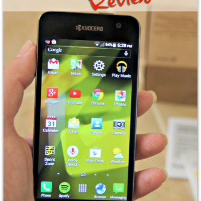 Review of the Sprint Kyocera Hydro Vibe Waterproof 4G LTE