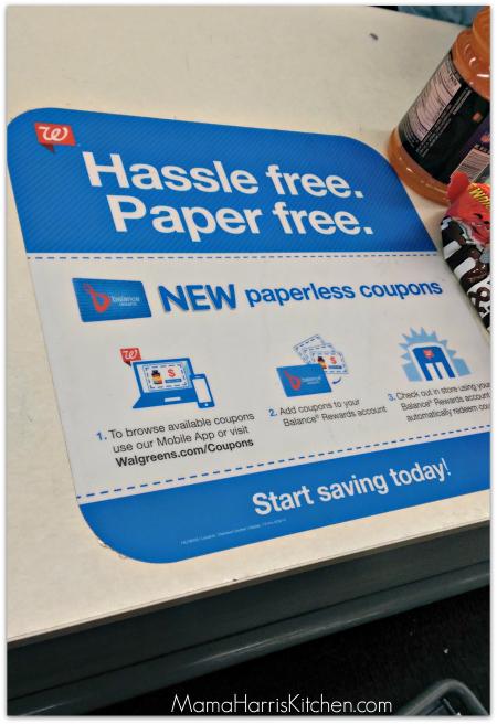 Walgreens Paperless Coupons
