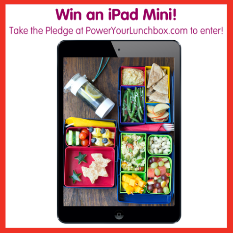 power your lunchbox pledge ipad mini