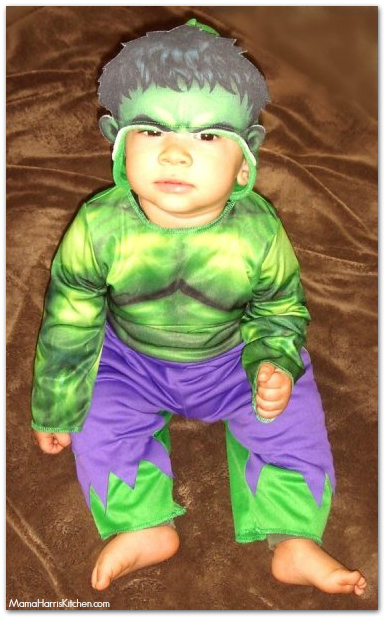 Superhero Hulk Toddler Halloween