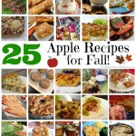 25 Apple Recipes for Fall!