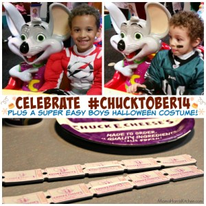 Celebrate Chucktober with an Easy Halloween Costume! {GIVEAWAY closed}