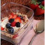 Creamy Mixed Berry Oatmeal