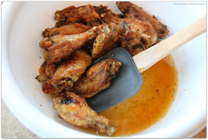 tequila lime baked chicken wings #ChicksWingIt #WingItWednesday - Mama Harris' Kitchen