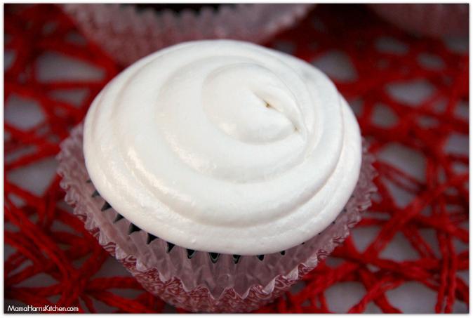 Chocolate Cupcakes with Marshmallow Cream Frosting #BigHero6 #shop #cbias - Mama Harris' Kitchen