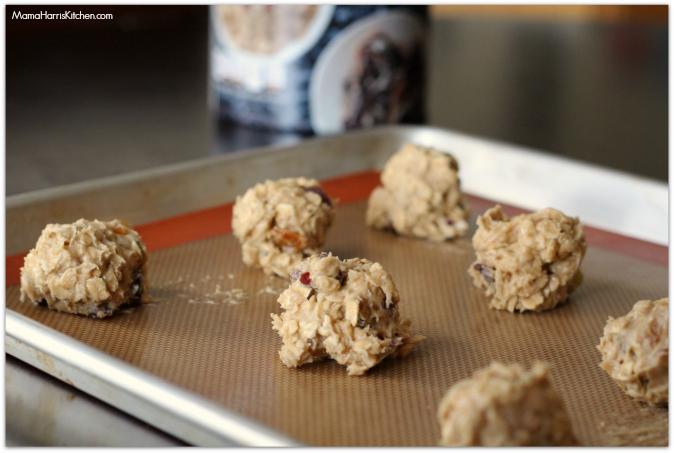 Oatmeal Recipes: Spiked Holiday Oatmeal Cookies #MyOatsCreation #spon - Mama Harris' Kitchen