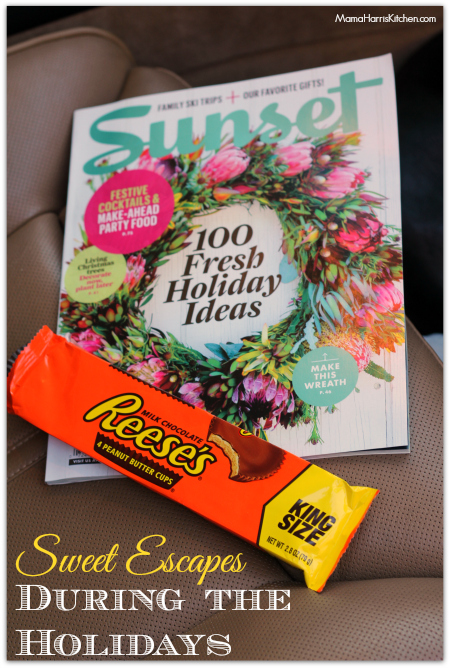 Sweet Escapes During the Holidays #HolidayMeTimeMags #WeaveMade #ad - Mama Harris' Kitchen