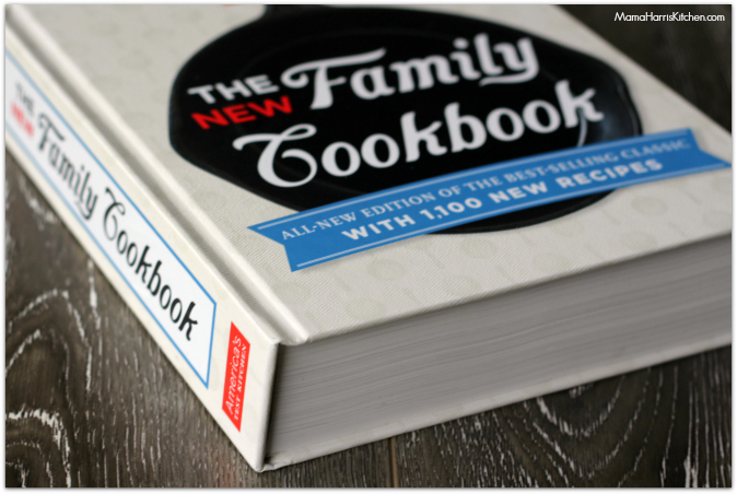 America's Test Kitchen - The New Family Cookbook {Review + GIVEAWAY} #atkfamily - Mama Harris' Kitchen