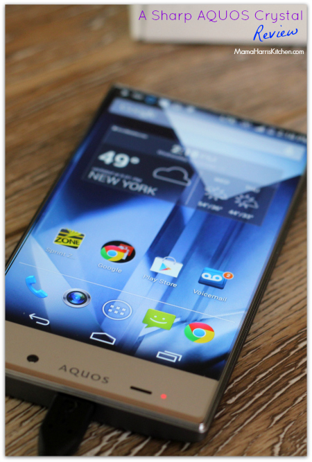 Sprint Sharp AQUOS Crystal Review #Sprintmom #sponsored #MC - Mama Harris' Kitchen