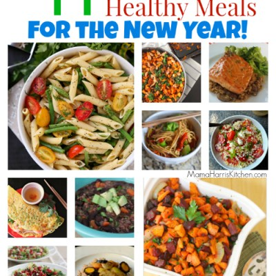 44 Quick & Healthy Meals for the New Year!