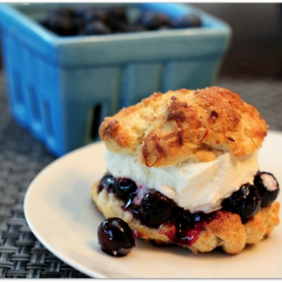 Blueberry Coconut Shortcakes