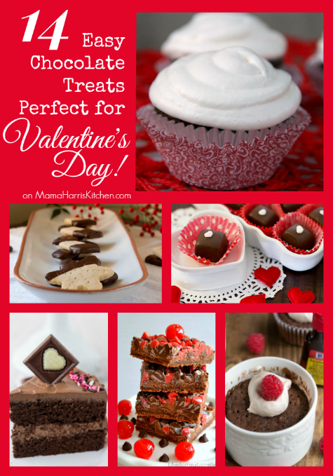 14 Easy Chocolate Treats Perfect for Valentine's Day - Mama Harris' Kitchen