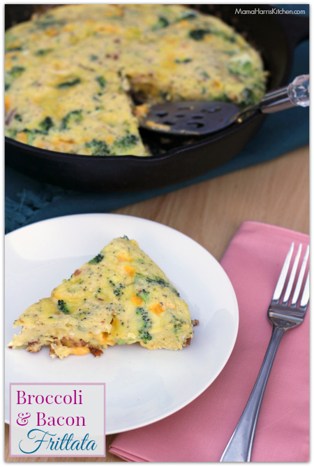 Broccoli and Bacon Frittata with VELVEETA® #LiquidGold5 (ad)