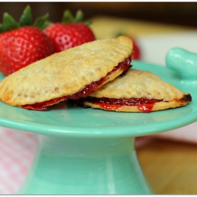 Strawberry Bourbon Jam filled Mini Hand Pies