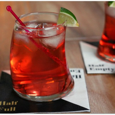 Red Dawn – A Three Ingredient Cocktail