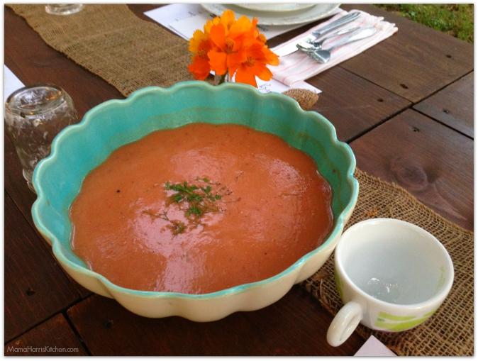 gazpacho - Mama Harris' Kitchen