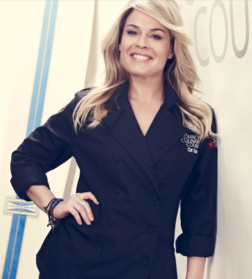 Join Culinary Council Chef Cat Cora at Macy's in Union Square! #MacysChef ad | Mama Harris' Kitchen