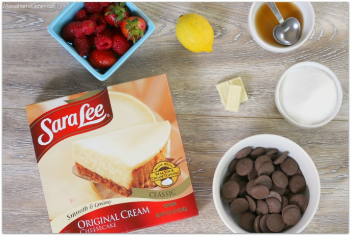 Make Sara Lee Desserts #UniquelyYours with Chocolate Covered Cheesecake Bites (ad) | Mama Harris' Kitchen
