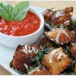 Fried Ravioli with Marinara Sauce