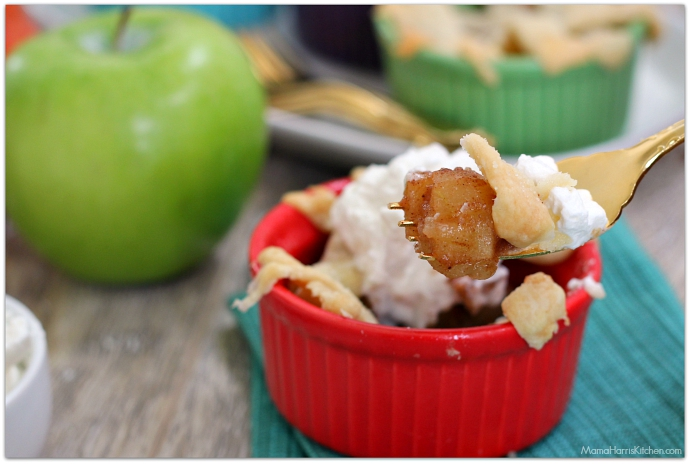 Mini Pear Apple Pie