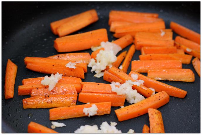 mushroom zucchini carrot saute 5
