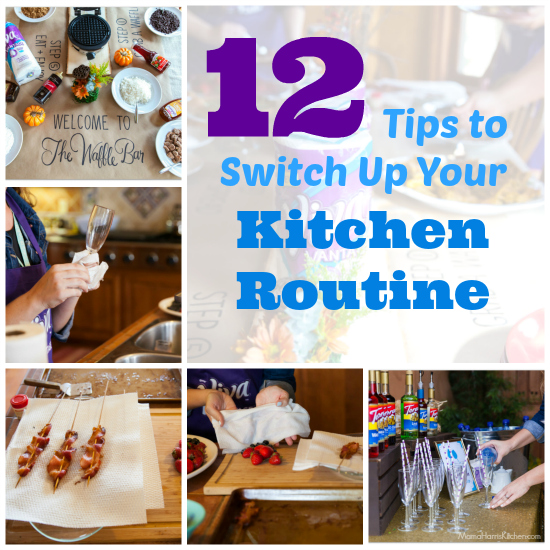 12 Tips to Switch Up Your Kitchen Routine with Viva Vantage Paper Towels #7DaySwitchUp AD | Mama Harris' Kitchen