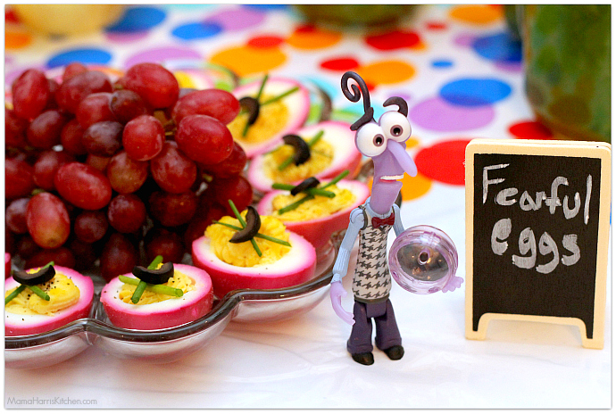Inside Out Movie Watching Theme Party Food Ideas #InsideOutEmotions #cbias AD | Mama Harris' Kitchen
