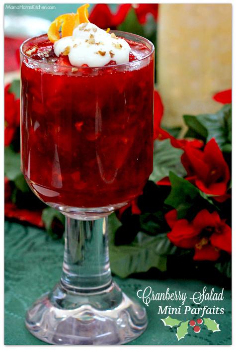 Cranberry Salad Mini Parfaits #BIGSeason #BigLots AD #cbias | Mama Harris' Kitchen