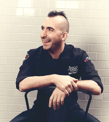 Join Chef Marc Forgione at Macy's in San Francisco for Game Day Tips!