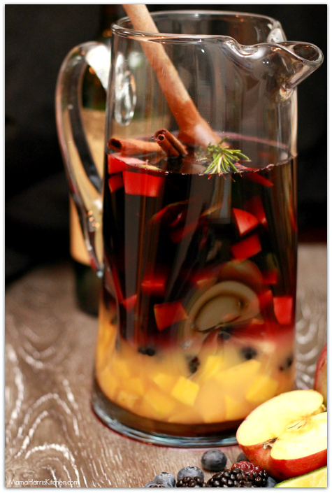 Romantic Brunch dreaming tree red crush wine Sexy Sangria Msg 4 21+ #EntertainAndPair AD | Mama Harris Kitchen